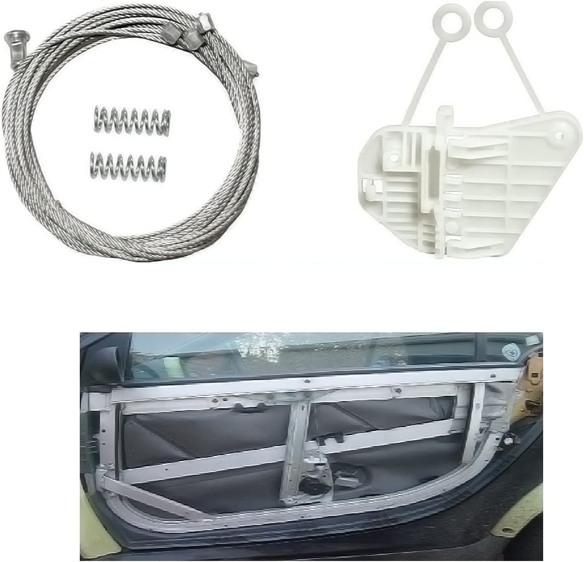 Pour Mercedes Smart Fenêtre Régulateur Réparation Kit Côté Gauche