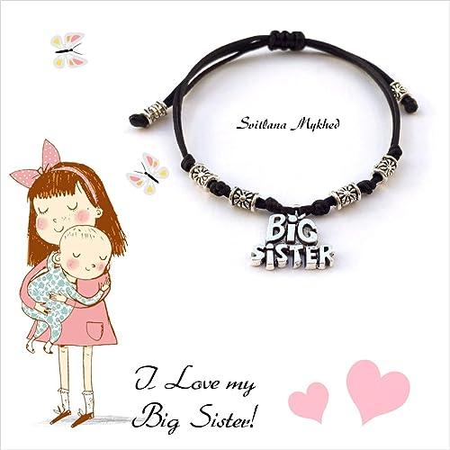 Bracelet Personnalise Big Sister Famille Amour Ma Grande