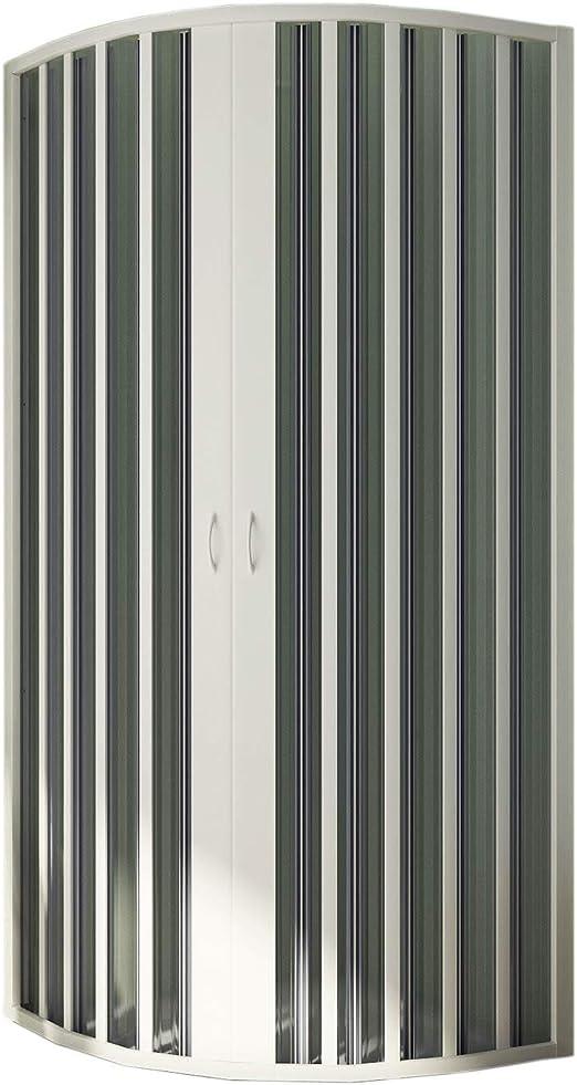 Forte br141001 Box ducha Free semicircular, riducibile, apertura ...