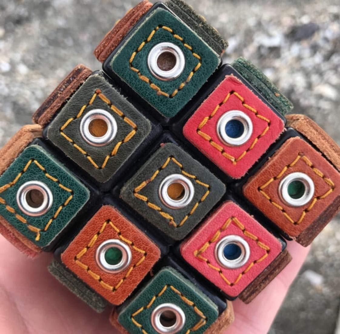 Rubik`s Cube ルービックキューブ 手作り Rubik`s Cube おもちゃ B07PHLTNJR 皮素材 B07PHLTNJR, とっぷりさいくるモール:04a9f2a3 --- m2cweb.com