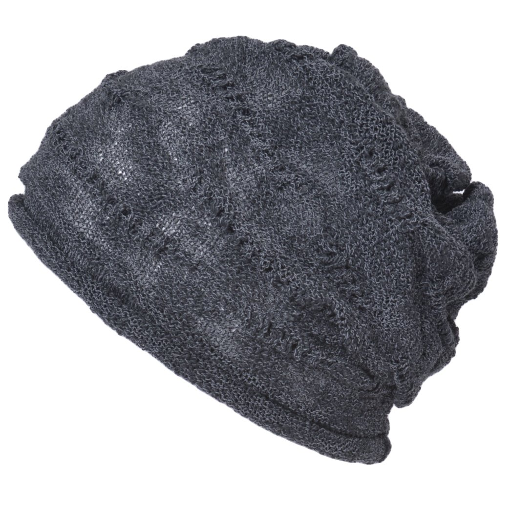 Casualbox Mens Cotton Beanie Hat Light Weight Cooling Summer Unisex