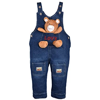81f128bfd920 ZOEREA Baby Boy Girl Dungarees Jeans Jumpsuit Cute Bear Dog Animal ...