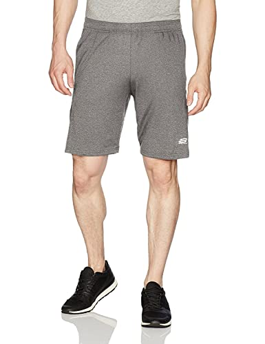 Skechers Men's Running Short, Charcoal