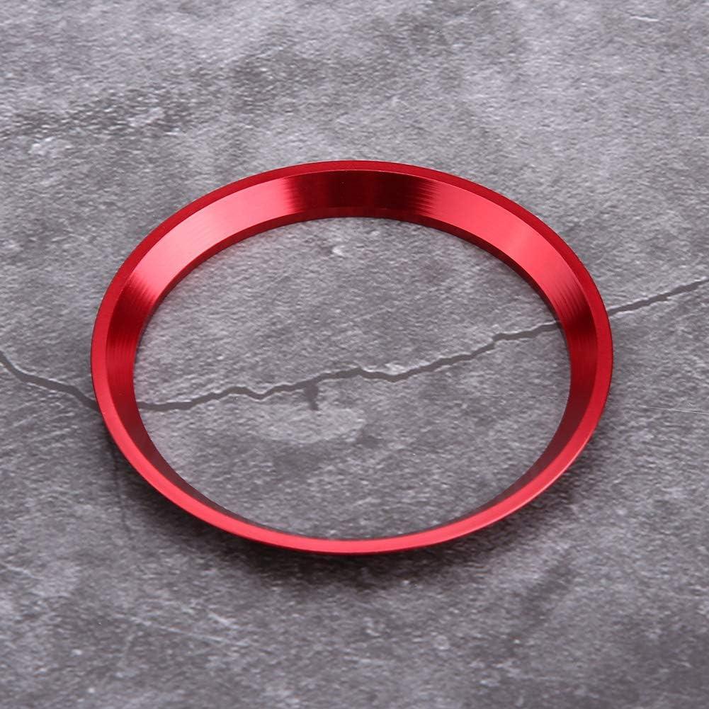Garniture de couvercle de bague de volant de voiture pour CLA GLK Classe A W204 W246 W176 W117 C117 EBTOOLS Anneau de volant pour CLA rouge
