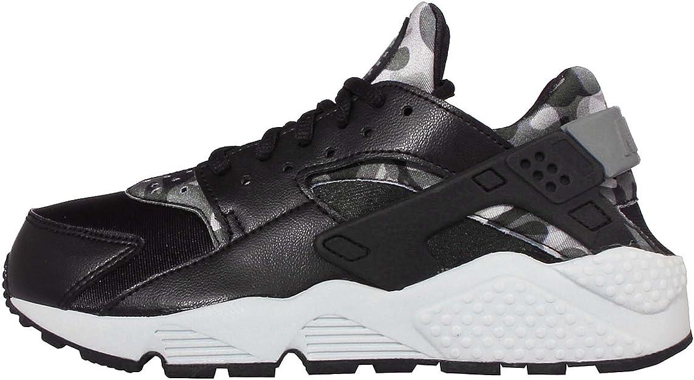 Nike Wmns Air Huarache Run Print, Zapatillas de Deporte para Mujer, Negro (Black/Cool Grey), 36 1/2 EU: Amazon.es: Zapatos y complementos