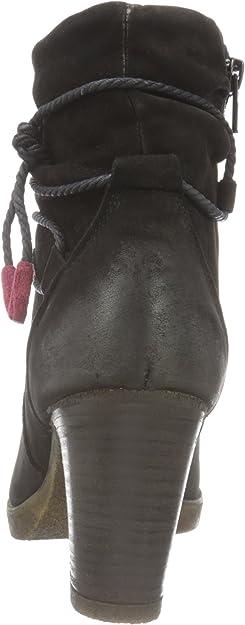 Details zu Neu Tamaris Badam Stiefeletten dunkelgrün 5761772