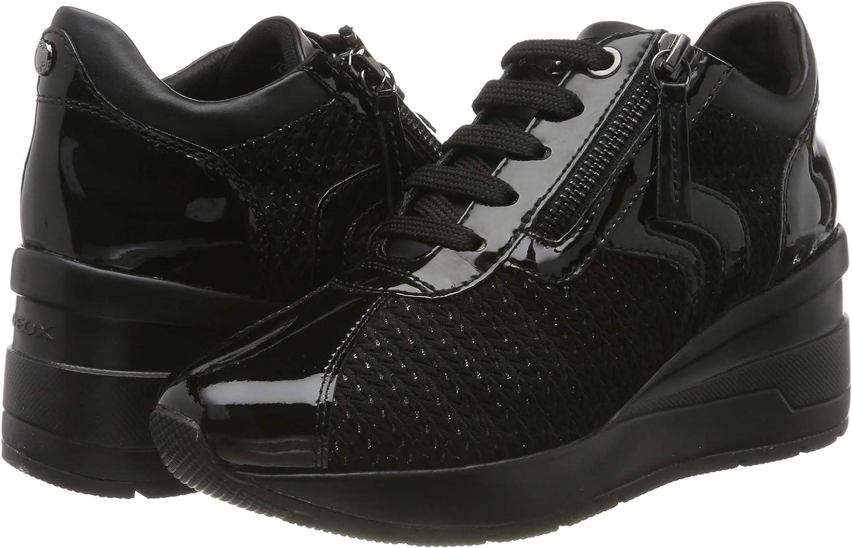 Geox Damen D Zosma A Sneaker: : Schuhe & Handtaschen