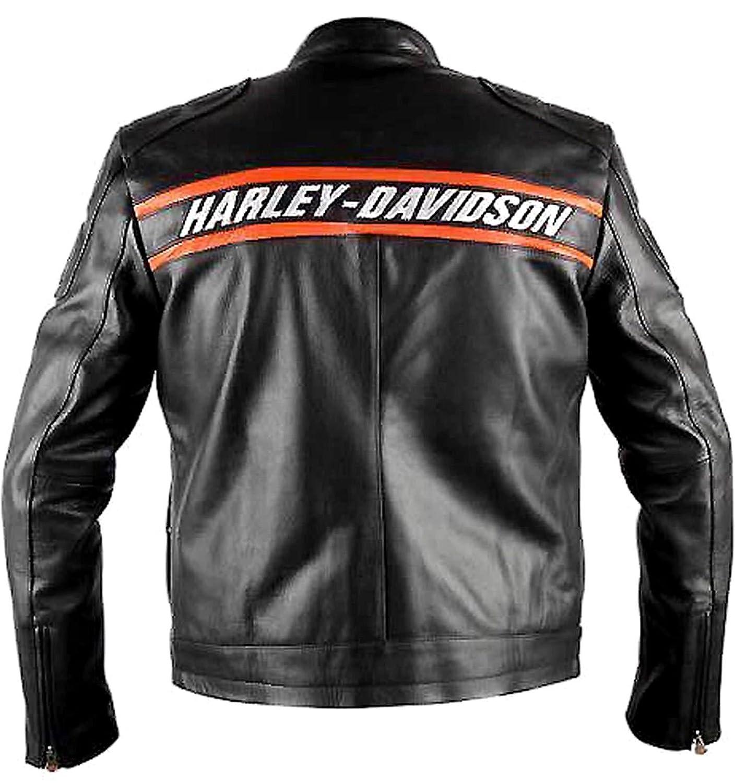 Amazon.com: WWE HD Goldberg Harley Motocicleta Negro piel ...