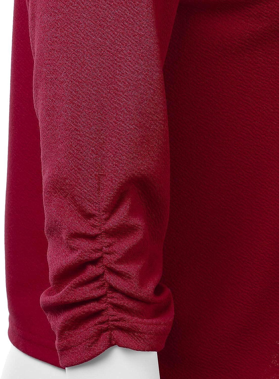 Herstellergr/ö/ße:M 38 Unibelle Damen Blazer Cardigan D/ünn 3//4 L/ängere Elegant Leicht Bolero Jacke Blazer Slim Fit Anzug Trenchcoat Aa-khaki