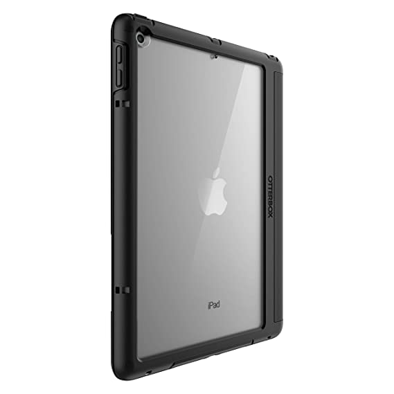 info for 3a862 f8e1b OtterBox SYMMETRY FOLIO SERIES Case for iPad (5th and 6th Generation) -  Retail Packaging - STARRY NIGHT - (CLEAR/BLACK/DARK GREY MICROSUED)