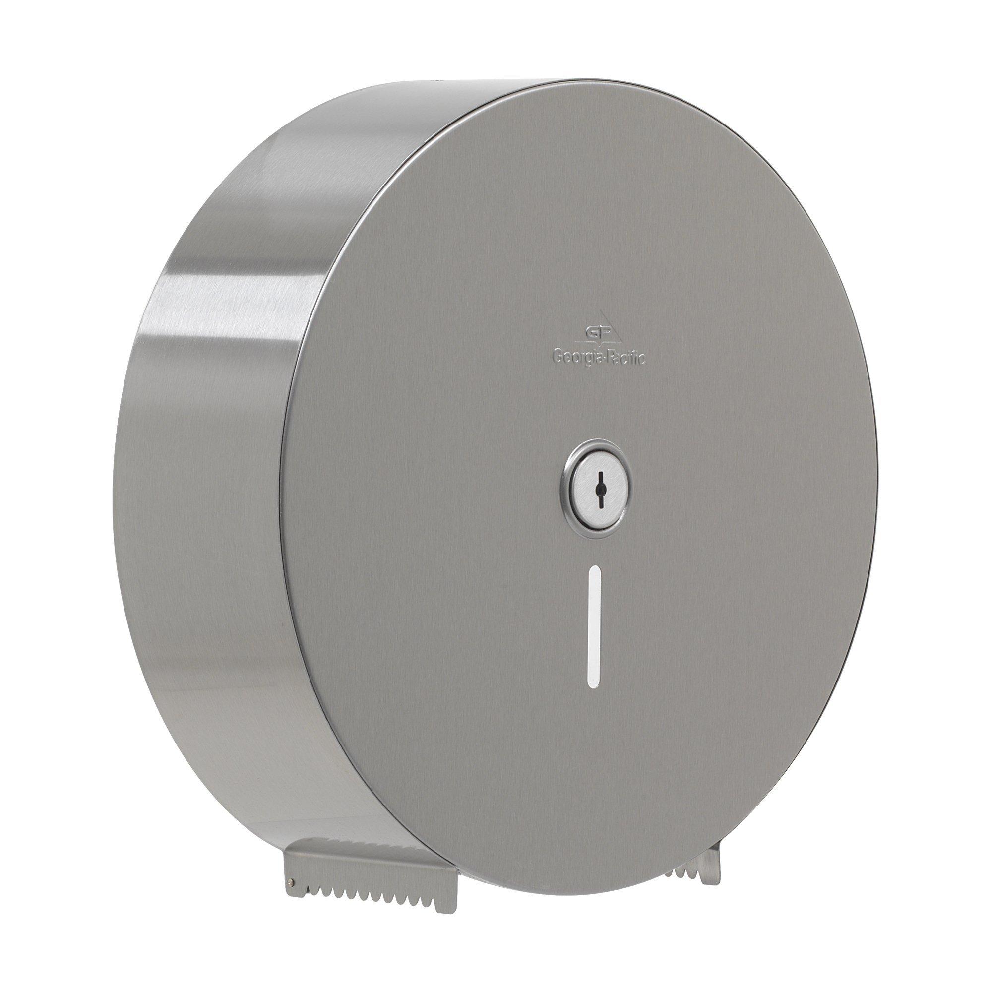 Georgia-Pacific 59449 Jumbo Bathroom Tissue Dispenser, 12'' Diameter
