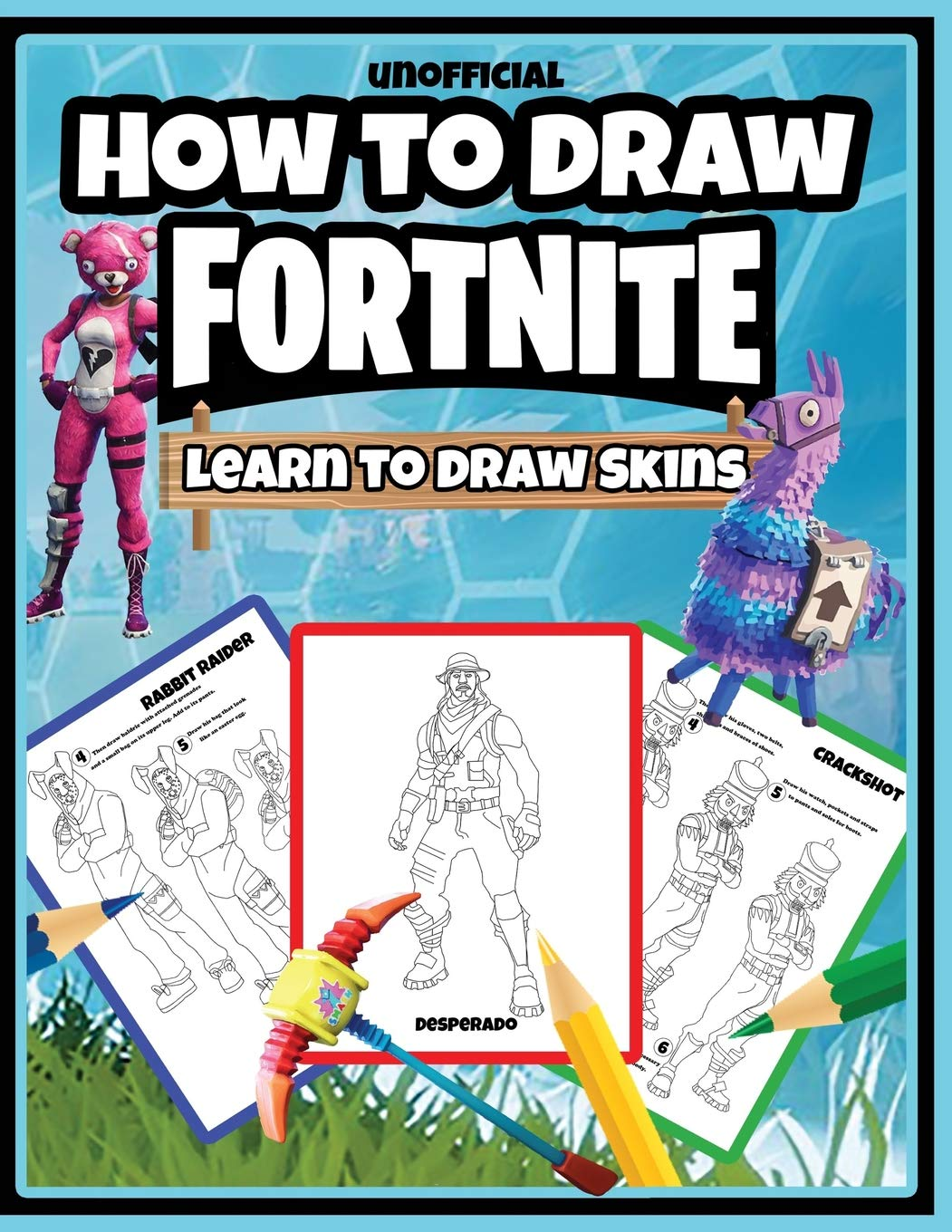 How To Draw Fortnite Learn To Draw Skins Unofficial Osie