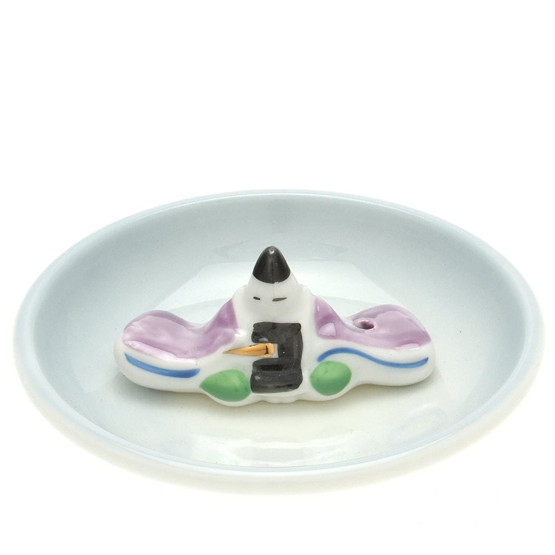 Japanese Incense Stand : B01A45BA8G Emperor 売店 激安 Hinamatsuri