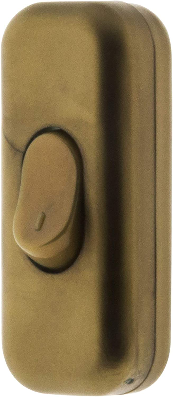 Interrupteur 2A Unipolaire Or Zenitech