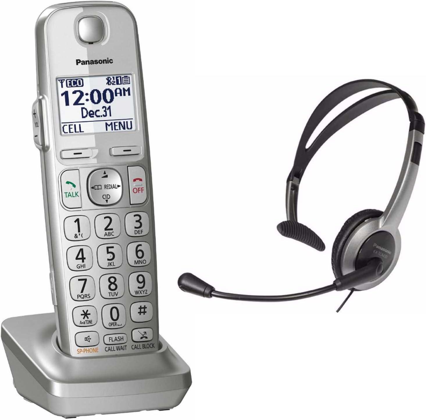Panasonic kx-tgea40s DECT 6.0 Digital Cordless Handset adicional para kx-tge463s/kx-tge474s/kx-tge475s + P: Amazon.es: Electrónica