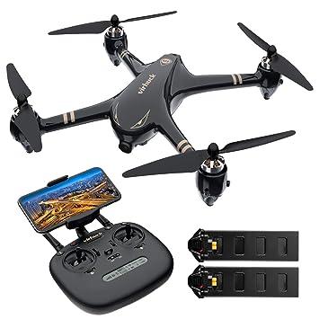 Virhuck V-6 RC Drone con cámara 1080p FHD 5G WiFi FPV Live Video y GPS