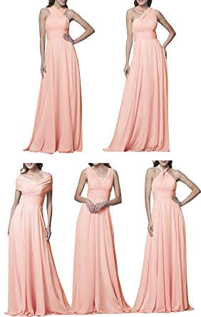 Lilibridal Convertible Bridesmaid Dresses Different Styles Long ...