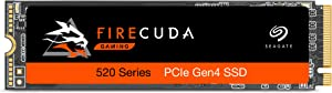 Seagate Firecuda 520 2TB Performance Internal Solid State Drive SSD PCIe Gen4 X4 NVMe 1.3 for Gaming PC Gaming Laptop Desktop (ZP2000GM3A002)