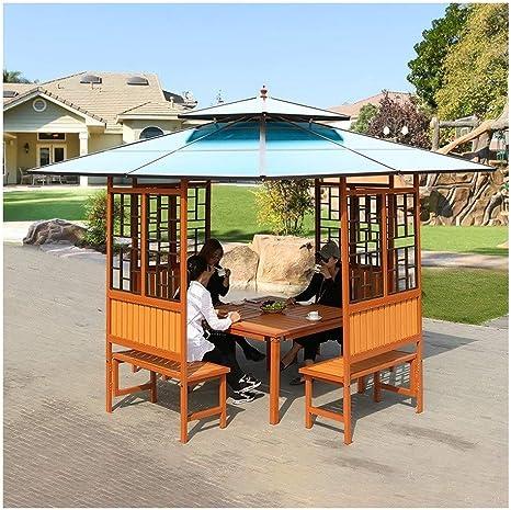 Gazebo de muebles de jardín Los quioscos de madera for patios ...