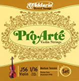 D'Addario Pro-Arte Violin String Set 1/16 Scale