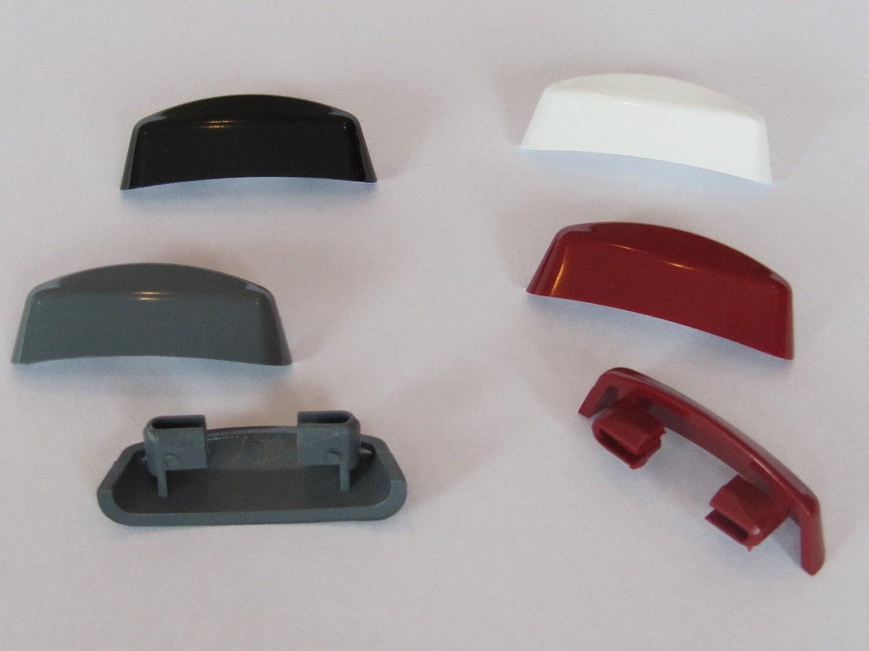 Design-Entw/ässerungskappe slim-line 30 siena noce//braun maron VE: 20 St/ück
