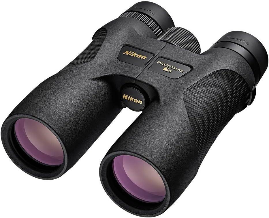 Nikon 16002 PROSTAFF 7S 8×42 Inches All-Terrain Binocular Black