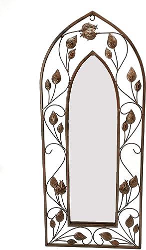 Gothic Arch Mirror Wallart, Gothic Mirror Decor 12 W x 28 H