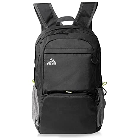 b77504799c Cobiz Ultralight Packable Camping Zaino Escursionismo Daypack, 30L Pack  Handy Pieghevole Laptop Travel Outdoor Zaino