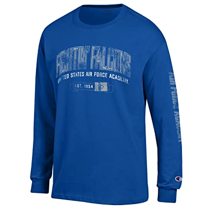 3bb95d01c40e Amazon.com   Champion NCAA Men s Fair Catch Long Sleeve Team Color T ...
