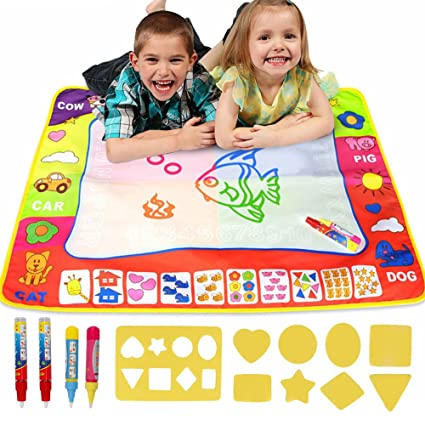 drawing games for little girls Amazoncom Amariver 32 X 24 Large Water Drawing Mat