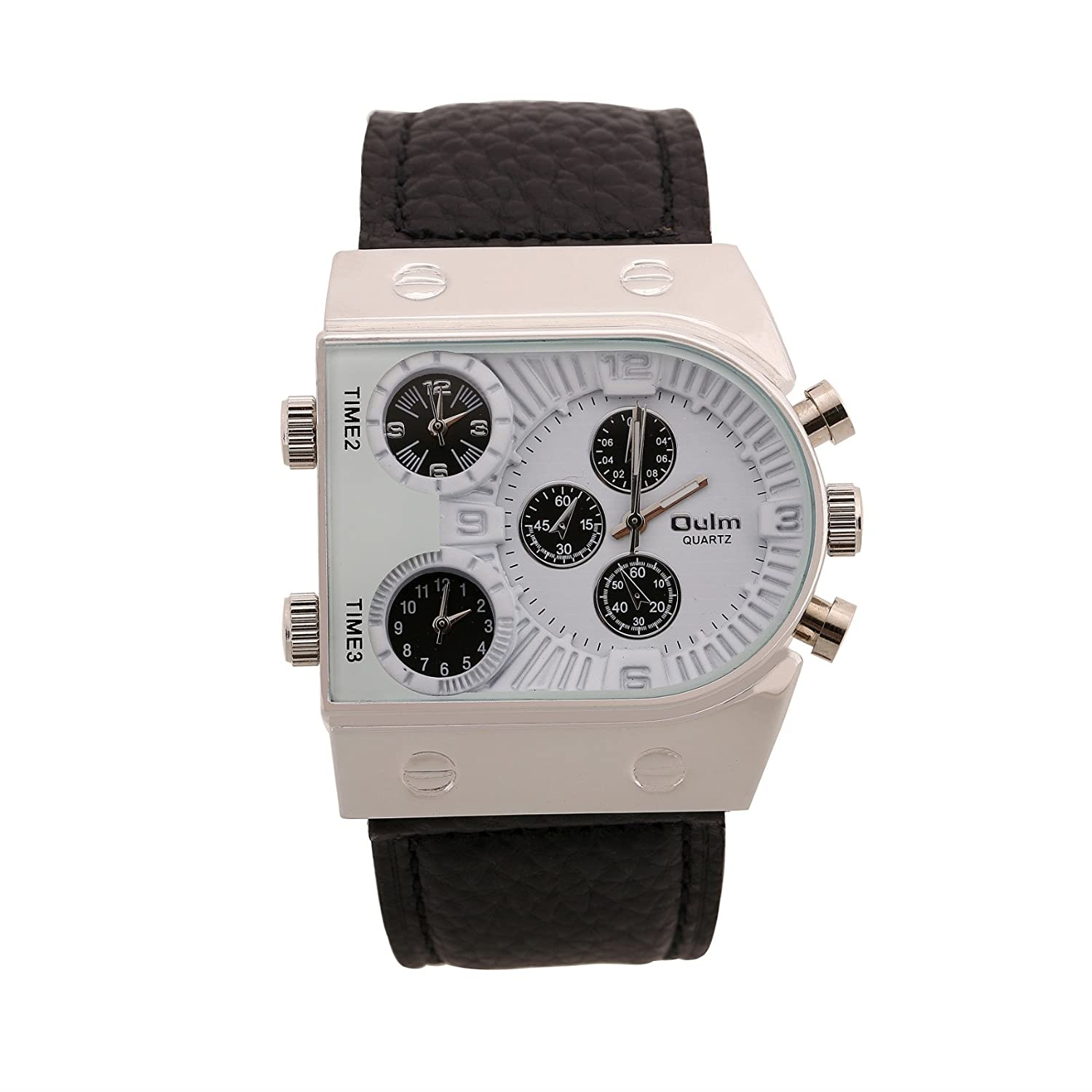 mcdowell white watches nato case lug polished quartz dial time with movement auto bond wire products kinetic delray watch