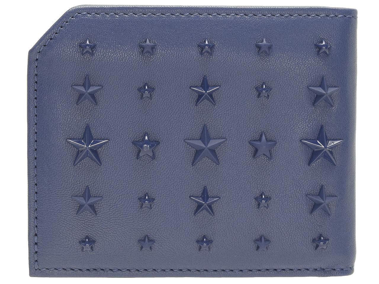 (ジミーチュウ) JIMMY CHOO 財布 二つ折り メンズ スター 星 albany [並行輸入品] B07ND6882Q オーシャンブルー