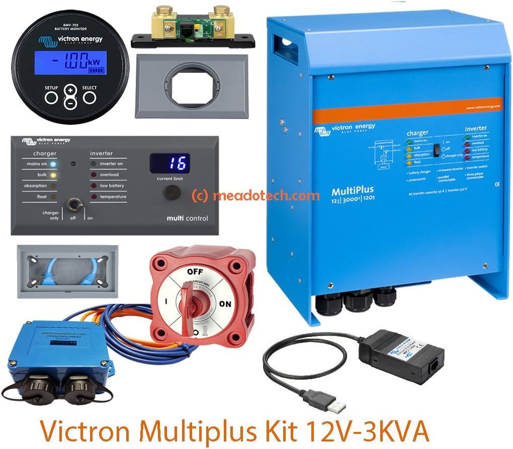 Inversores/cargadores 2500W 12V 3000VA Victron Energy Multiplus 12/3000/120-50