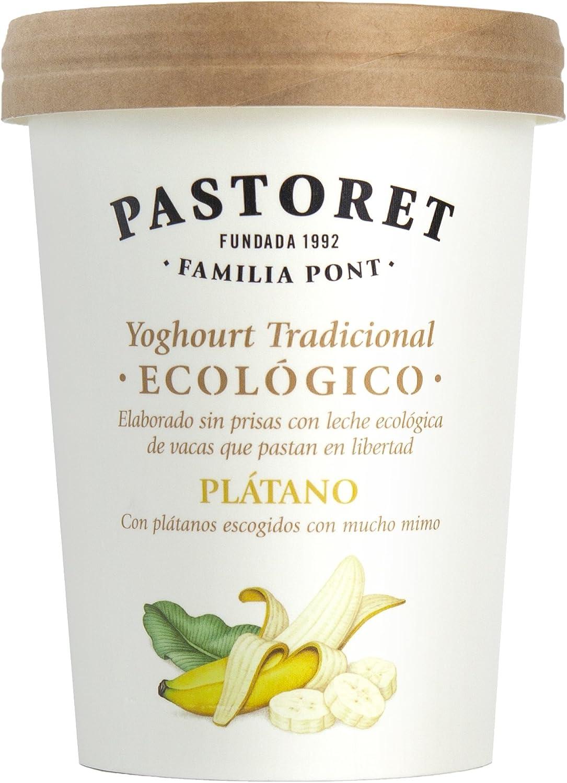 Pastoret Yogur Ecológico Plátano, 500 g