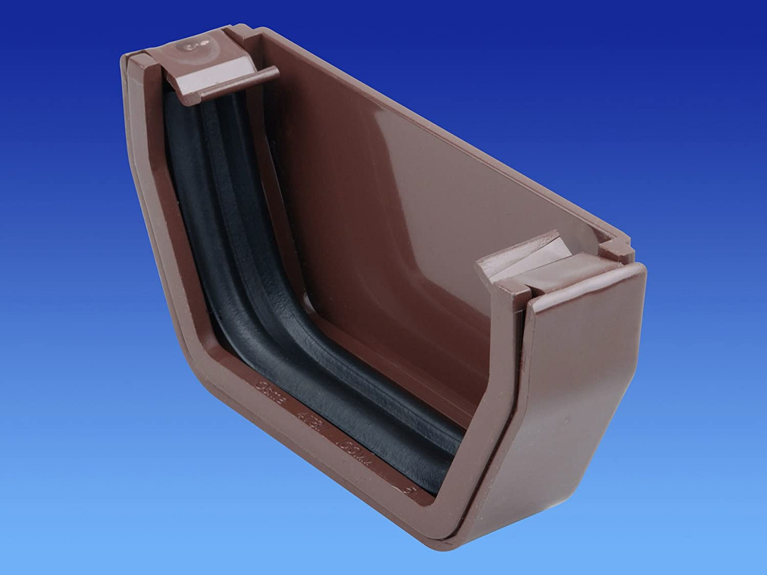 /stopend interior 100/mm marr/ón 4T810/N Wavin OSMA 4T819/N Squareline/