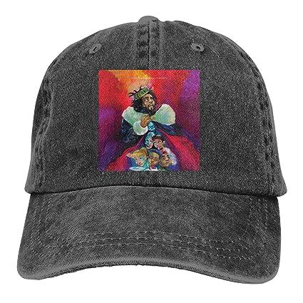 Amazoncom Leaflover Jcole Kod Unisex Cotton Denim Cap Hat