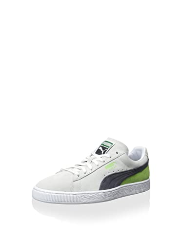 the latest 9b064 06db9 Amazon.com | PUMA Suede Classic+Blocked Mens | Shoes