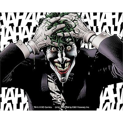 C&D Visionary Licenses Products DC Comics Batman Joker Hahaha Sticker: Toys & Games