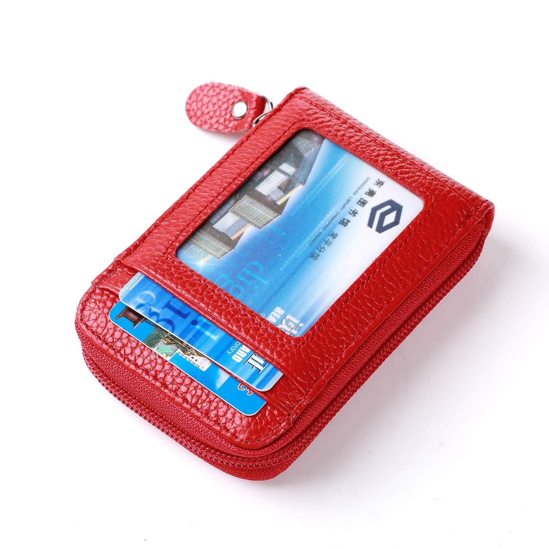 Vertical Bleu Porte-Cartes en Cuir Porte-Cartes en Cuir Porte-Cartes RFID Porte-Cartes Porte-Cartes Porte-Cartes Porte-Cartes Protecteur Dames Hommes 12 Compartiments