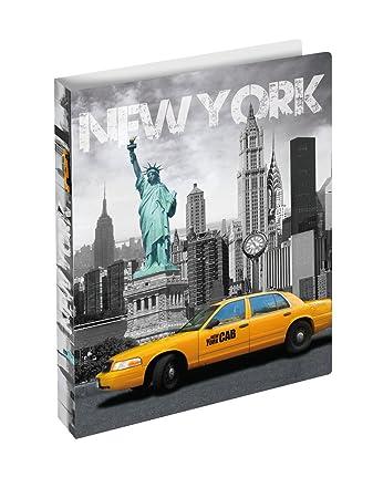 HERMA Ringbuch DIN A4 Motiv Trendmetropolen New York Ringordner Sammelmappe