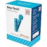 EasyTouch Twist Lancets - 30 G, (100 per Box)
