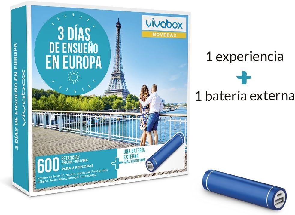 vivabox 3 dias de ensueño en europa