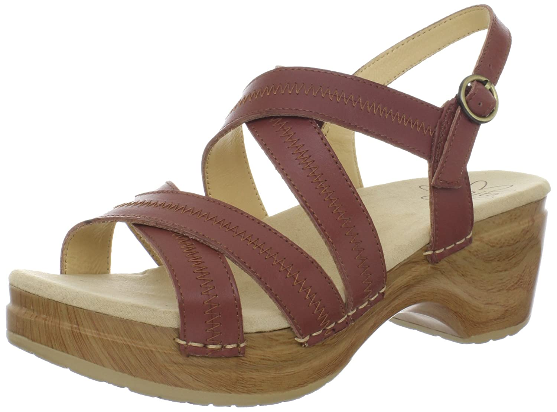 Sanita Women's Darcy Platform Sandal B008XAXVJQ 40 EU/9.5-10 M US|Brown