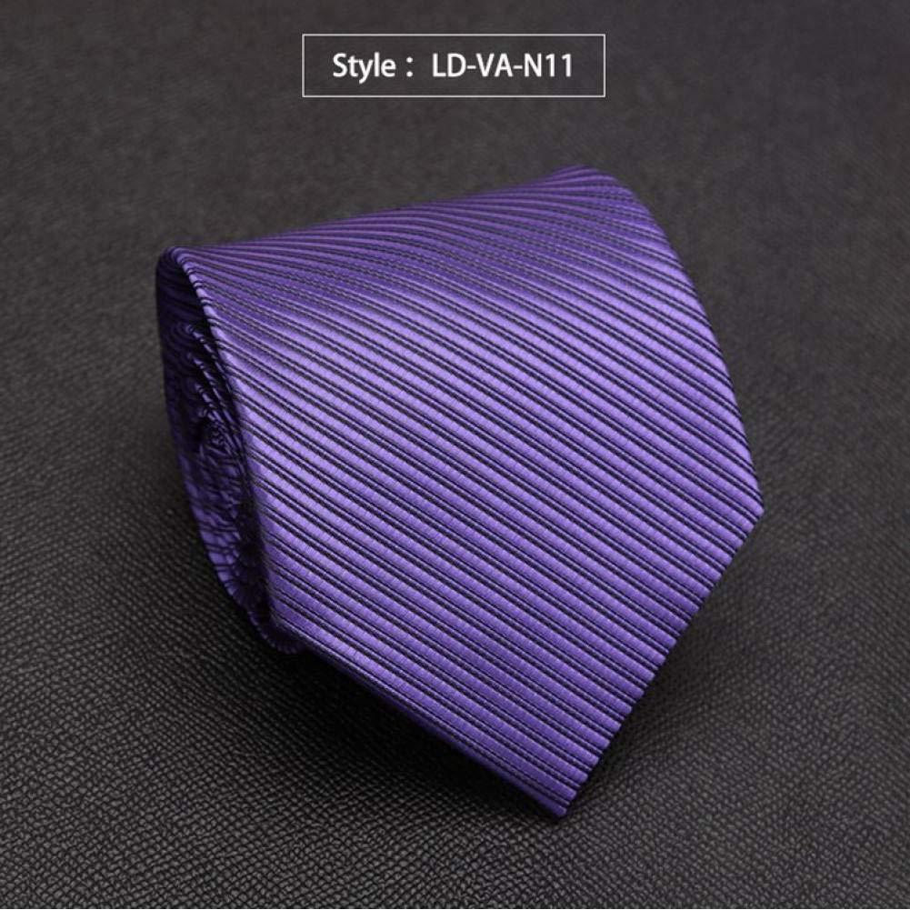 KYDCB Corbata de Lazo sólido para Hombre Lazos de Moda para Hombre ...