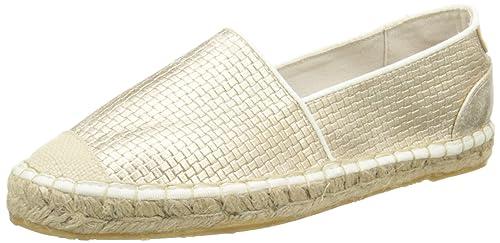 Mustang 1218201, Alpargatas para Mujer, Dorado-Or (699 Gold), 38 EU: Amazon.es: Zapatos y complementos