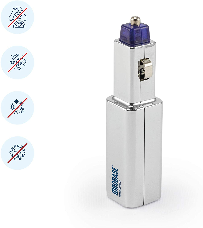 IDROBASE Purificador Aire, Ionizador Purificador Aire Encendedor de Cigarrillos - Purificador de Aire Difusor Coche (Accesorios Dispositivos, Mejor Que un Ambientador Coche)