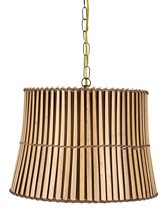 Perfect Upgradelights Bamboo Swag Lamp Lighting Fixture Hanging Plug In