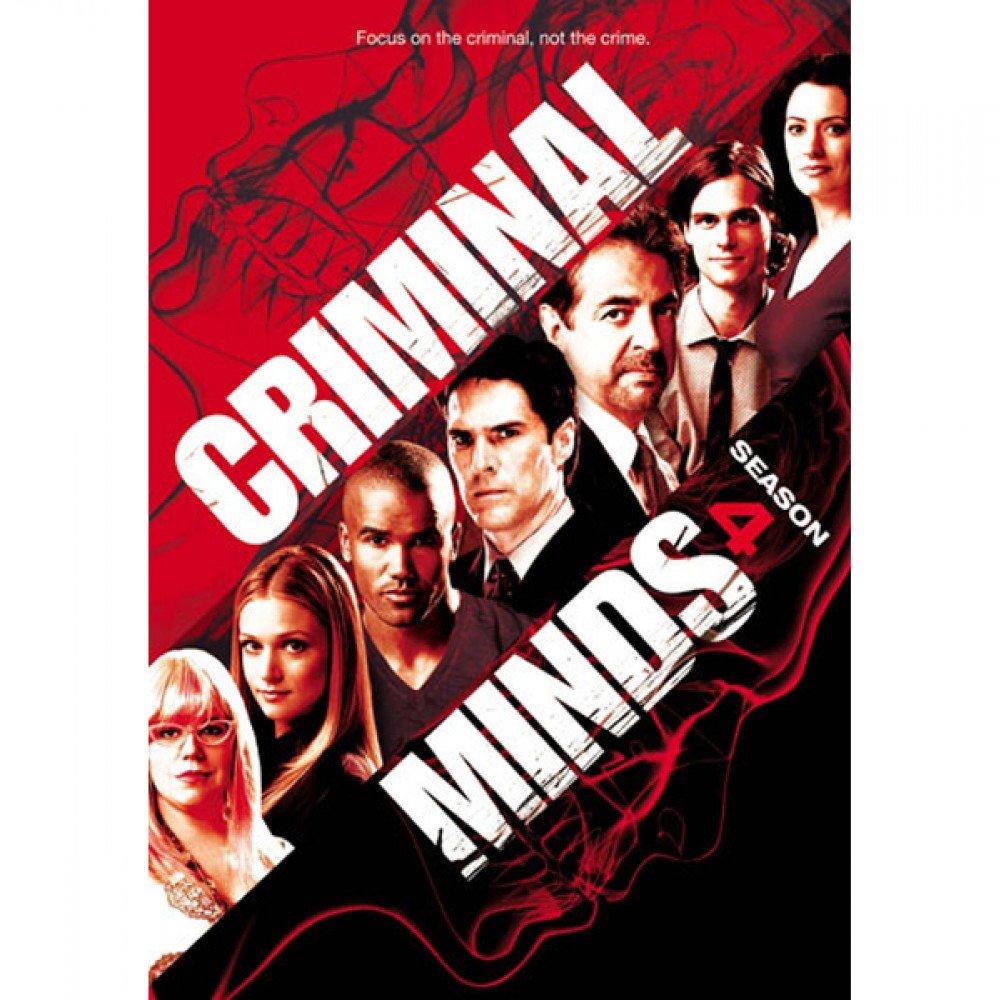 DVD : Criminal Minds: Season 4 (Widescreen, Dolby, AC-3, Slim Pack, Slipsleeve Packaging)