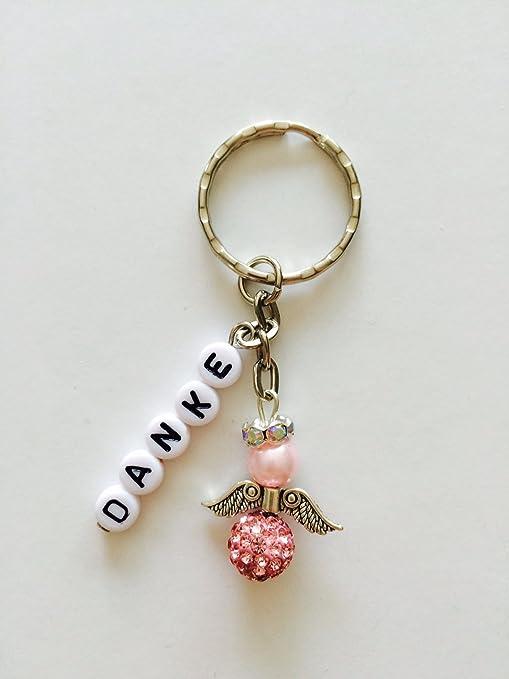 Llavero de Ángel de la guarda con la palabra Danke, regalo ...
