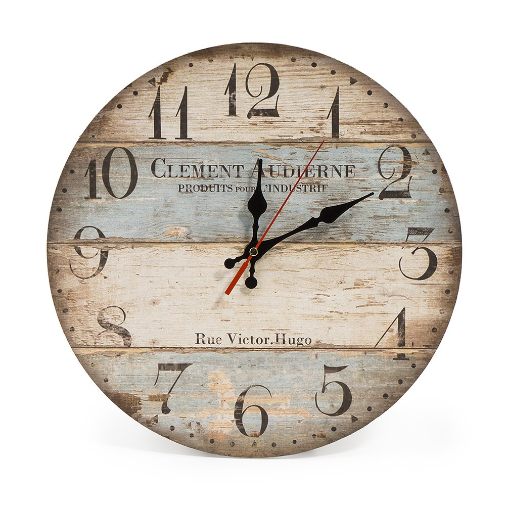 Reloj vintage de pared cuarzo estilo toscanahttps://amzn.to/2zZC4FU